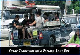 Pattaya Baht Bus